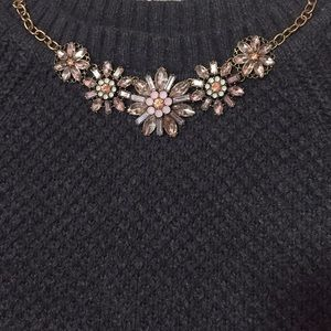 FOREVER 21 Jeweled flower necklace!
